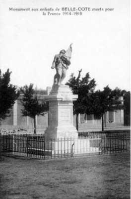 BELLE-COTE  Le Monument aux Morts