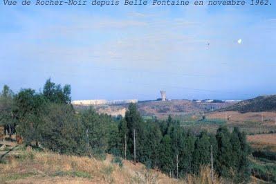 BELLEFONTAINE - Le Rocher Noir au fond