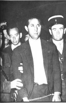 BEN BELLA lors de son arrestation