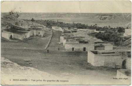 BENI-ABBES - Le Quartier Mzab