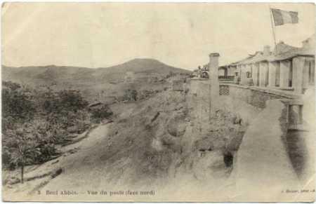 BENI-ABBES - La Face Nord
