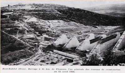 Barrage de BENI-BAHDEL qui alimente ORAN