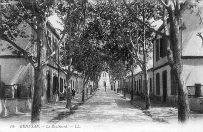 BENI-SAF - Un Boulevard