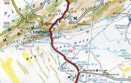 BERRIANE  au sud de LAGHOUAT