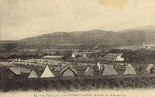 BERROUAGHIA - Le Camp militaire Vue ancienne