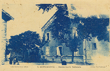 BERROUAGHIA - La Gendarmerie
