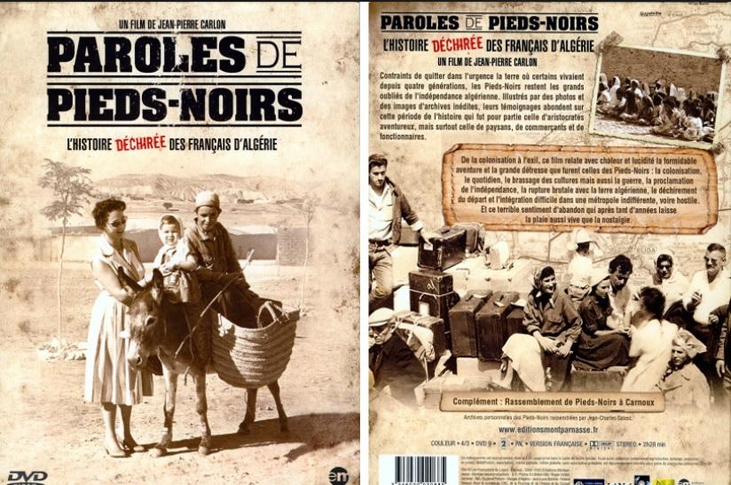 Paroles de PIEDS-NOIRS ---- Un film de Jean-Pierre CARLON