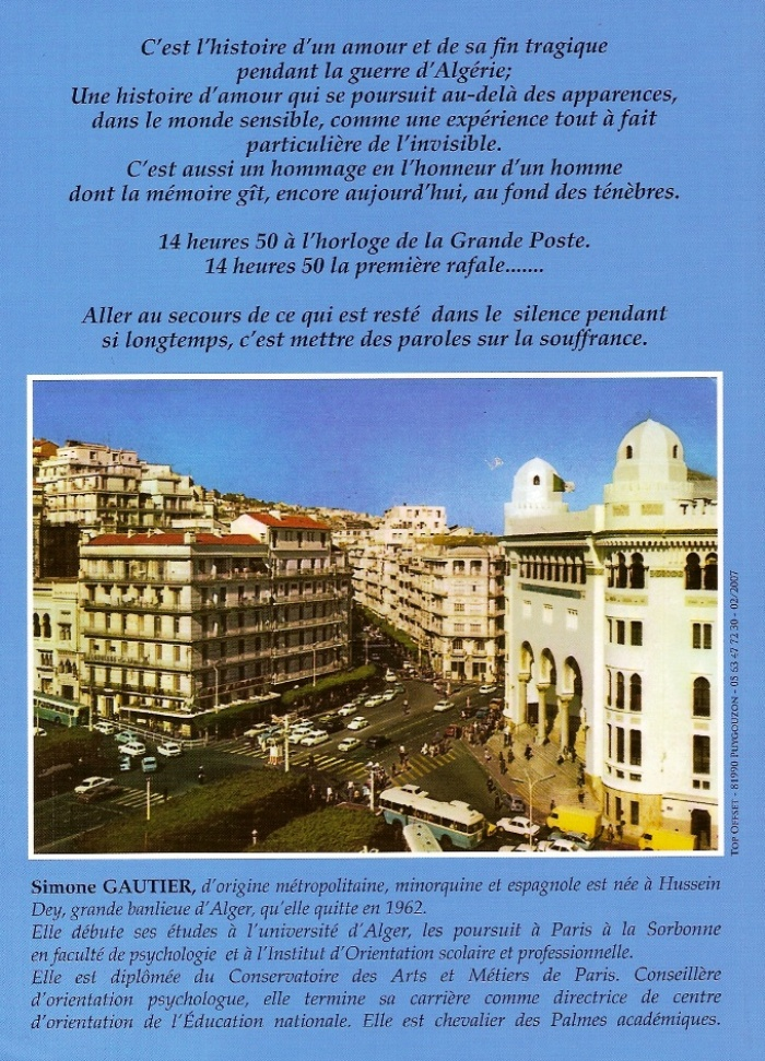 Simone GAUTIER 14 avenue de France 06400 Cannes 04.93.69.42.23 ----  26 Mars 1962