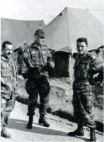 Lieutenant ALLAIRE Colonel BIGEARD Capitaine CHABANNE