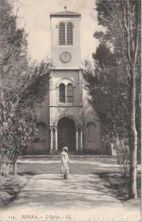 BISKRA - L'Eglise