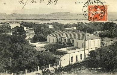 BISKRA - 1897 - Ecole Franco-Arabe