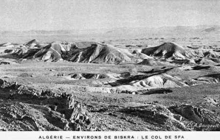 BISKRA - Col de SFA en 1928