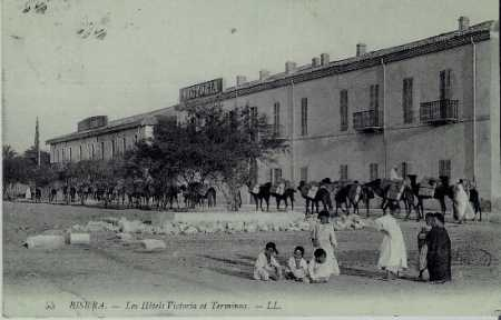 BISKRA Les Hotels Victoria et Terminus