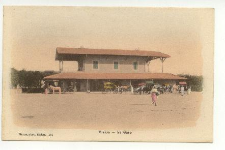 la gare de BISKRA