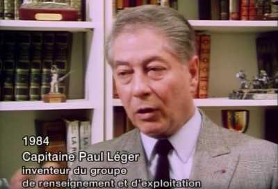 """Capitaine LEGER  en 1984 ----    Responsable de la """"Bleuite""""  -------   Trafic d'Armes"""