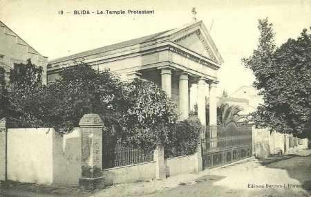 BLIDA - Le TEMPLE PROTESTANT