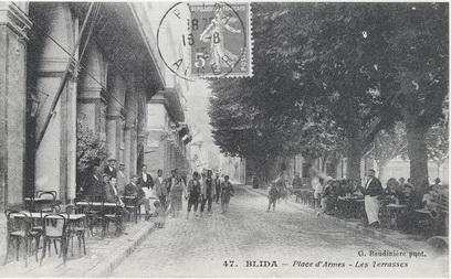 BLIDA vers 1900