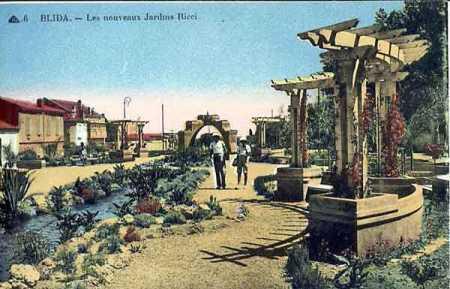 BLIDA - Les Jardins RICCI