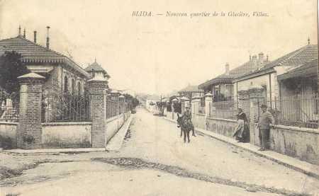 BLIDA - Le Quartier de la GLACIERE