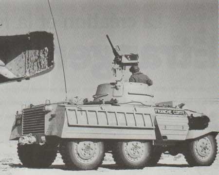 Automitrailleuse M8 - M20