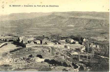 BOGHAR Ensemble du Fort