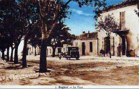BOGHAR - la Place