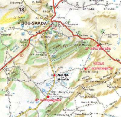 BORDJ-EL-L'AGHA au sud ouest de BOU-SAADA