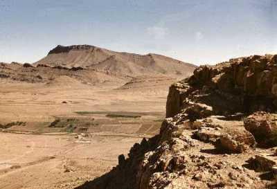 les environs de BORDJ-EL-L'AGHA