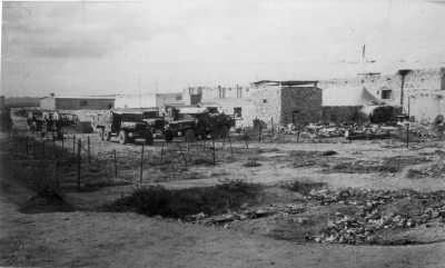 BORDJ-EL-L'AGHA en 1957 Le cantonnement du BT 584