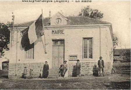 BORELY-la-SAPIE - La Mairie