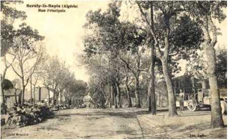 BORELY-la-SAPIE  La Rue Principale