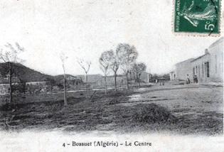 BOSSUET - Centre du village vers 1900