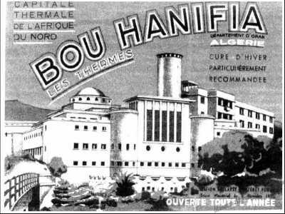 BOU HANIFIA  Affiche touristique