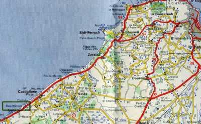 Carte de Bou Haroun