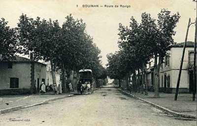 BOUINAN Route de ROVIGO