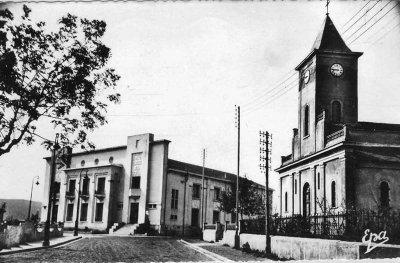 BOUIRA LLL'Eglise et la Poste