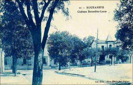 BOUKANEFIS - Chateau Recerdito-Louis