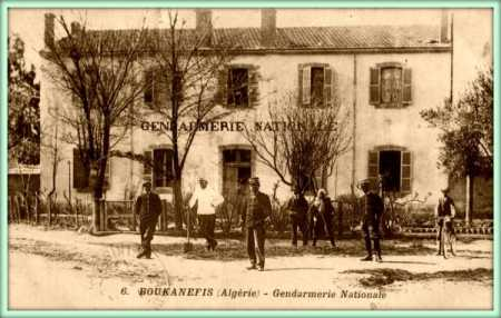 BOUKANEFIS - La Gendarmerie