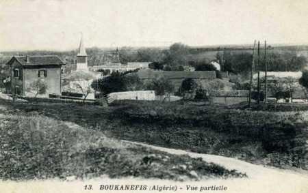 BOUKHANEFIS - Vue sur le village