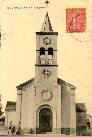 BOU-MEDFA - L'Eglise