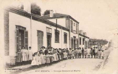 BOU-MEDFA - La Mairie et le Groupe Scolaire