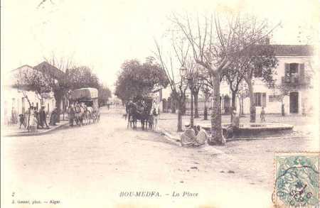 BOU-MEDFA - La Place Centrale