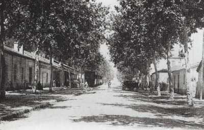 BOURKIKA - la rue principale
