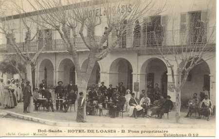 BOU-SAADA - Hotel de l'Oasis