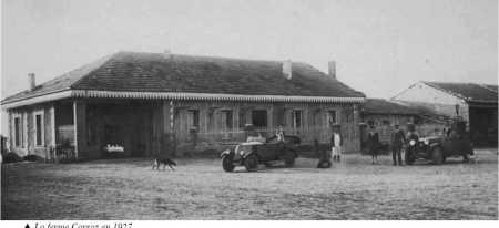 La ferme CARRAZ en 1927
