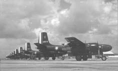 ORAN la SENIA B26 de bombardement  du groupe 2/91 Guyenne Photo: J. Dagouat  via Patrick Charles Renault