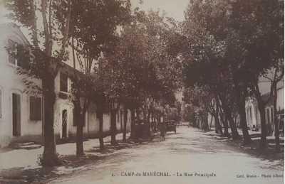 CAMP du MARECHAL - La Rue Principale - Nationale 12