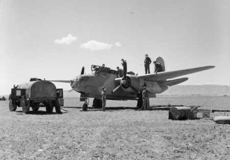 CANROBERT - Le Terrain d'Aviation en 1945