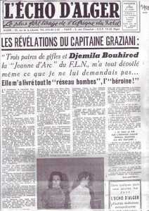 Capitaine GRAZIANI Djemila BOUHIREB