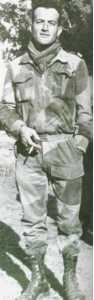 Capitaine GRAZIANI,  quelques jours avant sa mort  le 6 janvier 1959.